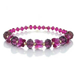 silver crystal bracelet 091811