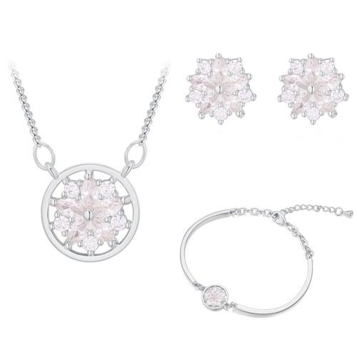 Snowflake jewelry set 30376