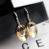 round hollow earring 20mm