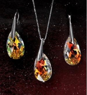 crystal pendant set9702245