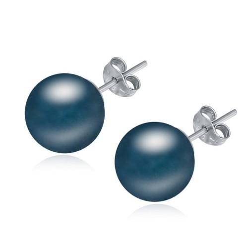 silver earring 18631