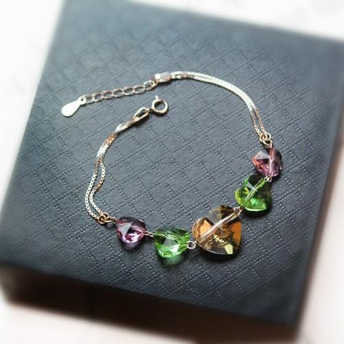 heart bracelet 14mm 8mm