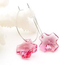 crystal - cross   earrings980507