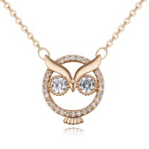 owl necklace 26133