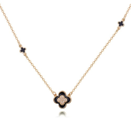four leaf clover necklace 26835