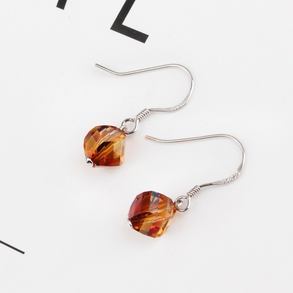 round earring 8mm