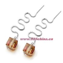 crystal earring 980274