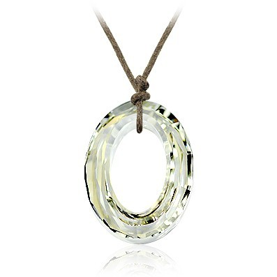 22mm crystal necklace 910129