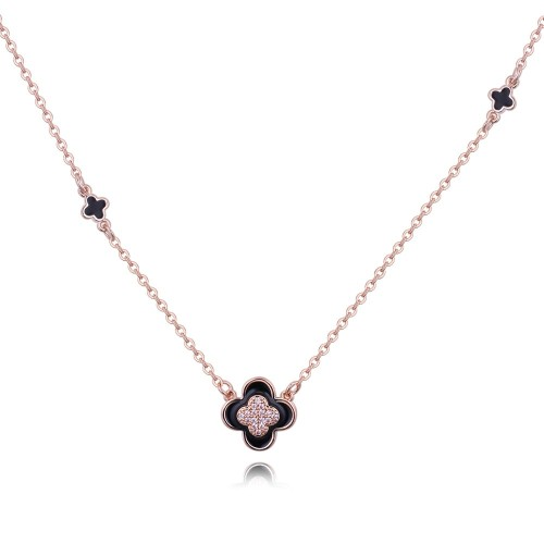 four leaf clover necklace 26834