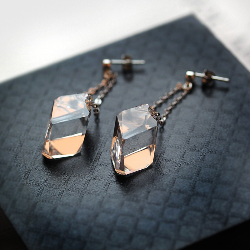 Geometric earring 22mm