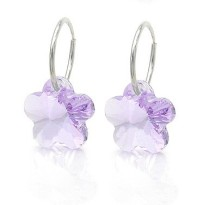 ftmade with      crystal earrings 980150