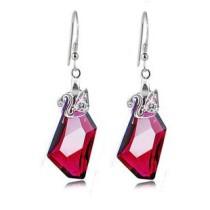silver    earring 1140815(18mm)