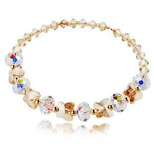 silver crystal bracelet 091810