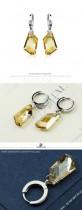 crystal earring 980443