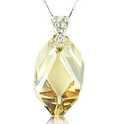 silver crystal pendant062804
