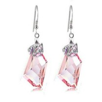 silver    earring 1140813(18mm)