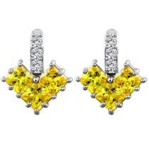 heart earring q8880909a