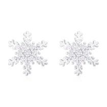 Snowflake earrings 30642