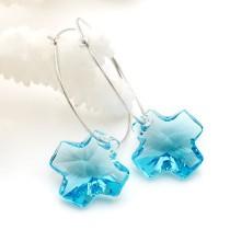 crystal - cross   earrings980506