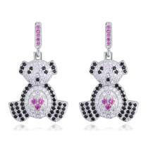 Bear bear earrings