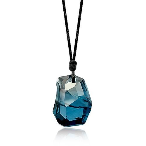 silver Austrias crystal necklace062012(30mm)
