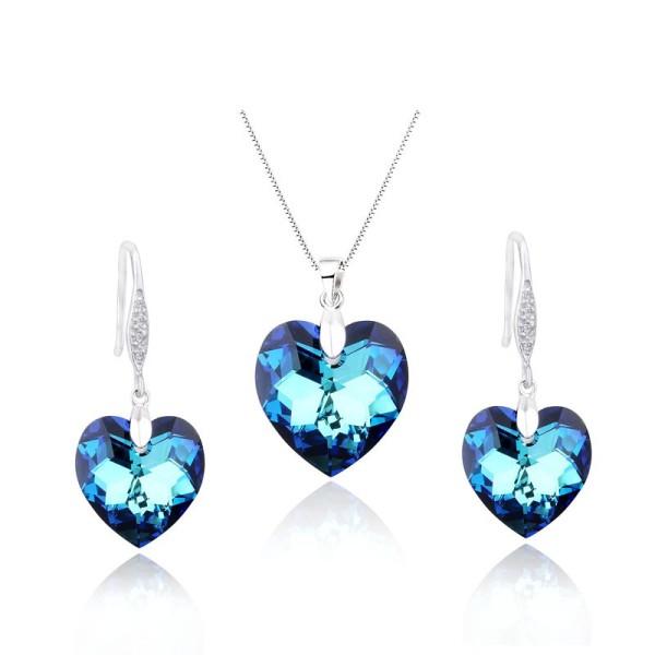silver pendant set 01213109