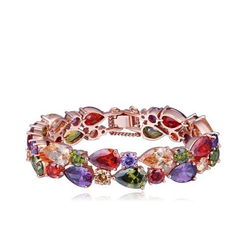 multi zircon bracelet(big)