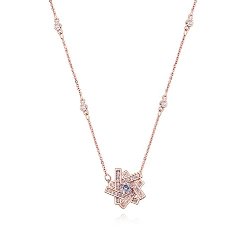 flower necklace 27324