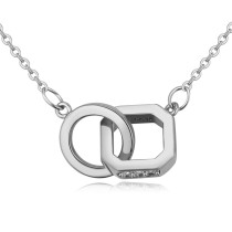 Geometric necklace 26141