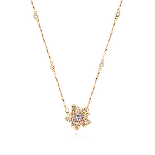 flower necklace 27325