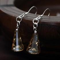 silver 5540 crystal earring031808