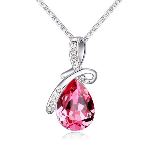 silver necklace 24329