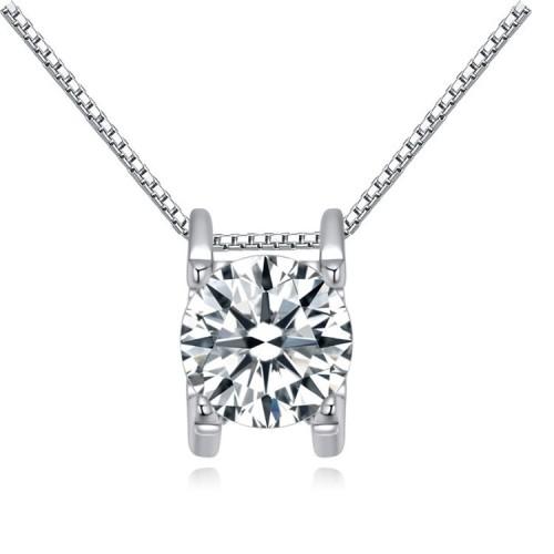 silver necklace 24312