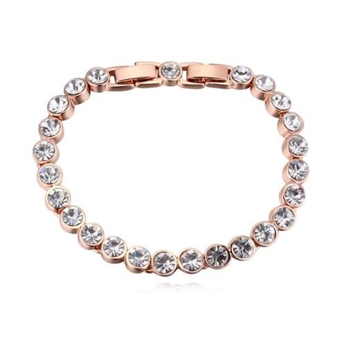 round crystal bracelet 25952