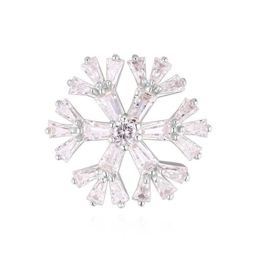 Snowflake brooch 30010