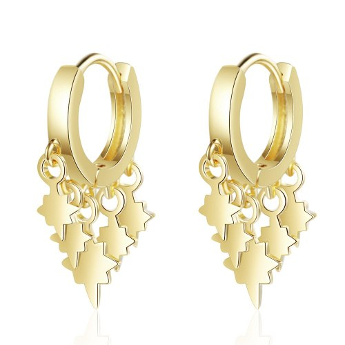 Simple Lightning Ear Clip Lady's Artistic Earrings Korean Style Hipster Short Ear Pendant Ear Ring Ear Rings XZE514