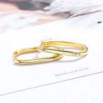 Ear Clip Women's Korean-Style Fashion Geometry Pattern Oval Ear Clip Simple Elegant Geometric Earringsxze544
