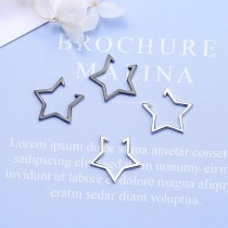 Five-Pointed Star Pierceless Clip-on Earrings Female Earrings 2020 Nian New Fashion Sen Xi Ear Clip Ear Stud Ear Stud Xze546