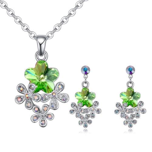 flower jewelry set 26340