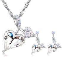 heart jewelry set 26826