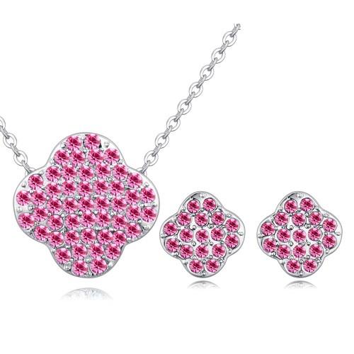 four leaf clover jewelry set 26700