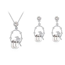 Bird Square Jewelry Set 30157