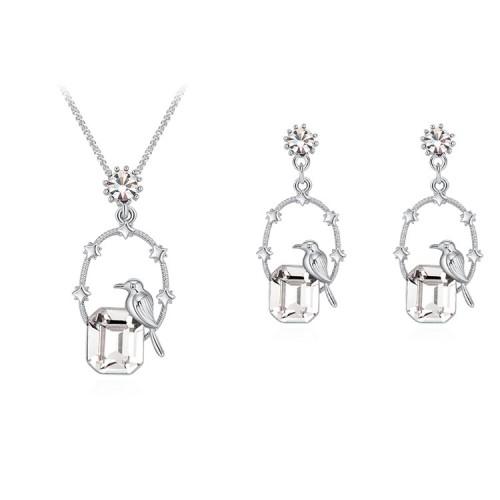 Bird Square Jewelry Set 30157
