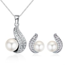 pearl jewelry set 29642