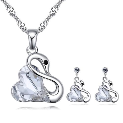 swan jewelry set 26330