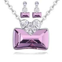 heart jewelry set 27113