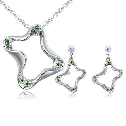Geometric jewelry set 26768