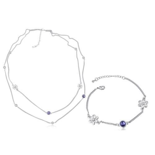 flower jewelry set 26540
