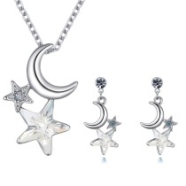 moon star jewelry set 26345