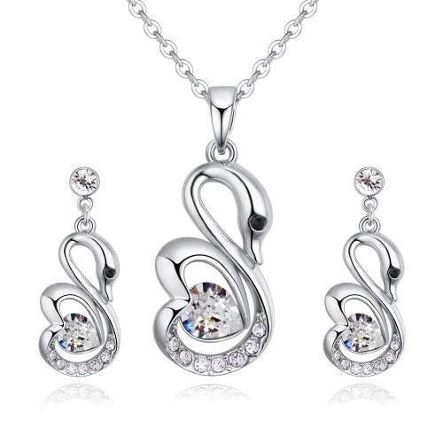 swan jewelry set 27093